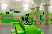 Инновационный дизайн отделения Air Bank