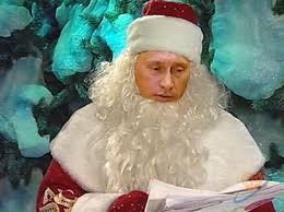 Путин дед Мороз оменил встречу в прямом эфире