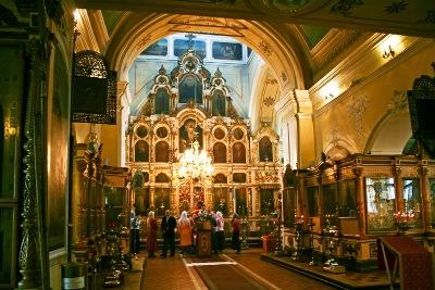 Церковь в Перхушково