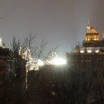 Виды ночной Москвы