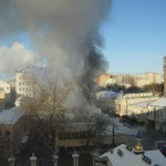 Пожар на Пятникой улице