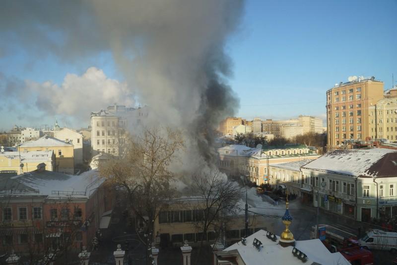 Пожар, Пятницкая улица