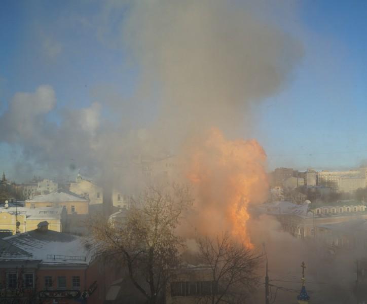 Фото взрыва газового баллона