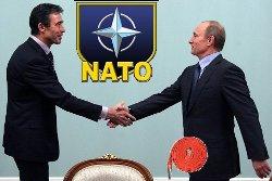 Путин и генсек НАТО